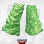 Granita's leg armor from the Masters of the Universe Classics line,