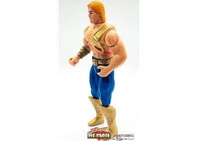 He-Man New Adventures of He-Man Figure Left Side View