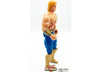He-Man New Adventures of He-Man Figure Right Side View