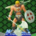 He-Man action figure from the 2002 Masters of the Universe 200x Modern Series. Check out his figure & accessories using the Weapons Rack database.