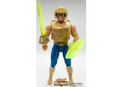 He-Man New Adventures of He-Man Figure Geared Up
