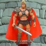 Rebel Leader He-Man action figure from the Masters of the Universe Classics line. Find other figures, weapons, vehicles, and accessories using the Weapons Rack.
