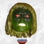 Horde Zombie He-Man head 3 from the Masters of the Universe Classics toy line.