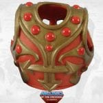 Jitsu's armor from the Masters of the Universe Classics toy line.