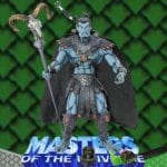 Keldor exclusive action figure from the Masters of the Universe Modern Series toy line. Find other figures & accessories using the Weapons Rack.