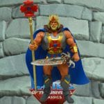 King He-Man action figure from the Masters of the Universe Classics line. Find other figures, weapons, vehicles, and accessories using the Weapons Rack.
