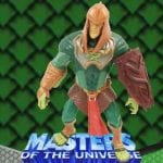 King Hssss action figure from the Masters of the Universe Modern Series toy line. Find other figures & accessories using the Weapons Rack.