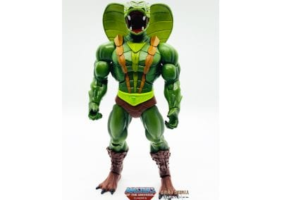 Kobra Khan Masters of the Universe Classics Figure Front View