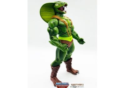 Kobra Khan Masters of the Universe Classics Figure Right Side View