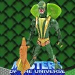 Kobra Khan action figure from the Masters of the Universe 200x Modern Series toy line. Find other figures, weapons, and accessories using the Weapons Rack.