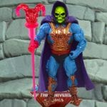 Laser Light Skeletor action figure from the Masters of the Universe Classics line. Find other figures, weapons, vehicles, and accessories using the Weapons Rack.