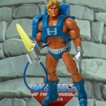 Laser Power He-Man action figure from the Masters of the Universe Classics line. Find other figures, weapons, vehicles, and accessories using the Weapons Rack.