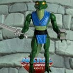 Lizard Man action figure from the Masters of the Universe Classics line. Find other figures, weapons, vehicles, and accessories using the Weapons Rack.