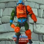 Man-at-Arms action figure from the Masters of the Universe Classics line. Find other figures, weapons, vehicles, and accessories using the Weapons Rack.