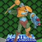 Man-at-Arms action figure from the Masters of the Universe 200x Modern Series toy line. Find other figures & accessories using the Weapons Rack.