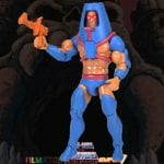 Man-E-Faces action figure from the Filmation Super7 Masters of the Universe toy line. Find other figures, weapons, vehicles, and accessories using the Weapons Rack.