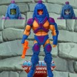 Man-E-Faces action figure from the Masters of the Universe Classics line. Find other figures, weapons, vehicles, and accessories using the Weapons Rack.