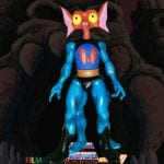 Mantenna action figure from the Filmation Super7 Masters of the Universe toy line. Find other figures, weapons, vehicles, and accessories using the Weapons Rack.