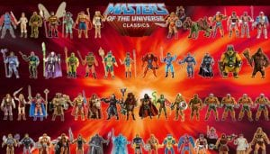 Masters of the Universe Classics Toy Line