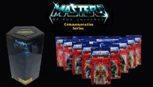 Masters of the Universe Commemorative Series toy line