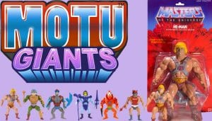 Masters of the Universe Giants toy line