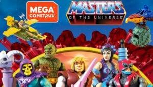 Masters of the Universe Mega Contrux toy line