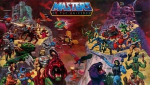 Masters of the Universe Original Series Toy Line