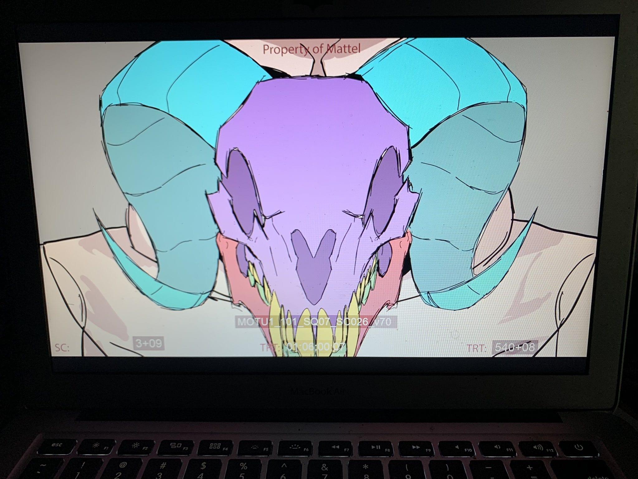 Masters of the Universe Revelation Animation Still