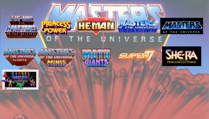 Masters of the Universe Toy Lines