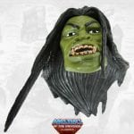 Megator's head from the Masters of the Universe Classics toy line.