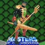 Mer-Man action figure from the Masters of the Universe Modern Series toy line. Find other figures & accessories using the Weapons Rack.