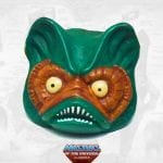 Mer-Man's vintage head from the Masters of the Universe Classics toy line.