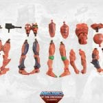 Modulok parts from the Masters of the Universe Classics toy line. Find other figures, weapons, vehicles, and accessories using the Weapons Rack.