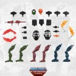 Multi-Bot parts from the Masters of the Universe Classics toy line. Find other figures, weapons, vehicles, and accessories using the Weapons Rack.