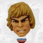 Oo-Larr He-Man head from the Masters of the Universe Classics toy line. Find other figures, weapons, vehicles, and accessories using the Weapons Rack.