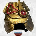 Optikk's armor from the Masters of the Universe Classics toy line. Find other figures, weapons, vehicles, and accessories using the Weapons Rack.