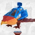 Talon Fighter from the Point Dread playset from the Masters of the Universe Classics toy line. Find other figures, weapons, vehicles, and accessories using the Weapons Rack.
