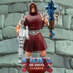Preternia Disguise He-Man action figure from the Masters of the Universe Classics line. Find other figures, weapons, vehicles, and accessories using the Weapons Rack.