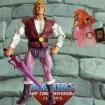 Color Changing Orko with Prince Adam action figure from the Masters of the Universe Classics line.