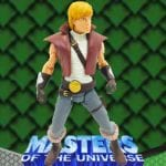 Prince Adam action figure from the Masters of the Universe Modern Series toy line. Find other figures & accessories using the Weapons Rack.