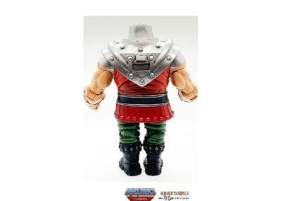 Ram Man Masters of the Universe Classics Back View