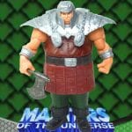 Ram Man action figure from the Masters of the Universe 200x Modern Series toy line.