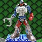 Roboto action figure from the Masters of the Universe Modern Series toy line. Find other figures & accessories using the Weapons Rack.