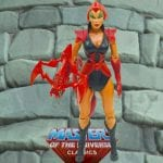 Scorpia action figure from the Masters of the Universe Classics line. Find other figures, weapons, vehicles, and accessories using the Weapons Rack.
