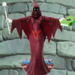Shadow Weaver action figure from the Masters of the Universe Classics line. Find other figures, weapons, vehicles, and accessories using the Weapons Rack.