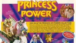 She-Ra and the Princess of Power Toy Line