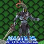 Skeletor action figure from the Masters of the Universe 200x Modern Series toy line.