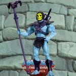 Toothless Skeletor action figure from the Masters of the Universe Classics line. Find other figures, weapons, vehicles, and accessories using the Weapons Rack.