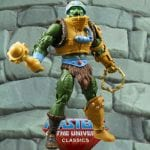 Snake Man-at-Arms action figure from the Masters of the Universe Classics line. Find other figures, weapons, vehicles, and accessories using the Weapons Rack.