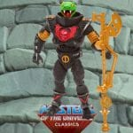 Snake Trooper action figure with the light green head from the Masters of the Universe Classics line. Find other figures, weapons, vehicles, and accessories using the Weapons Rack.